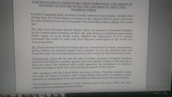 President Jonathan - May 2014 - BellaNaija.com