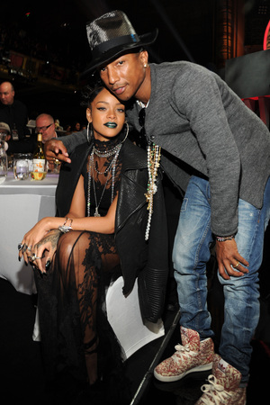 Rihanna & Pharrell Williams - May 2014 - BellaNaija.com