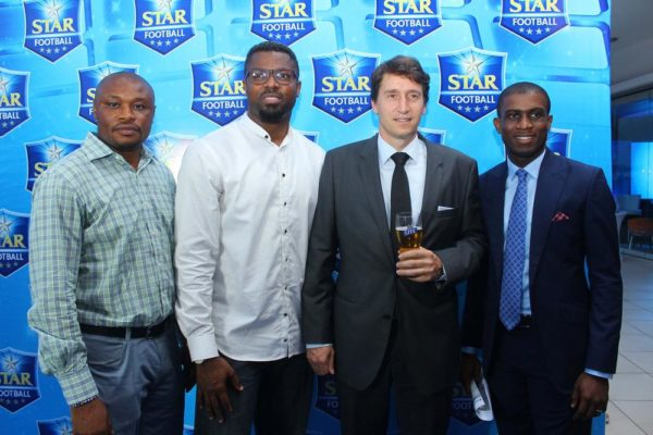 COLIN UDOH, MOSES PRAIZ, WALTER DRENTH AND JOE HANSEN