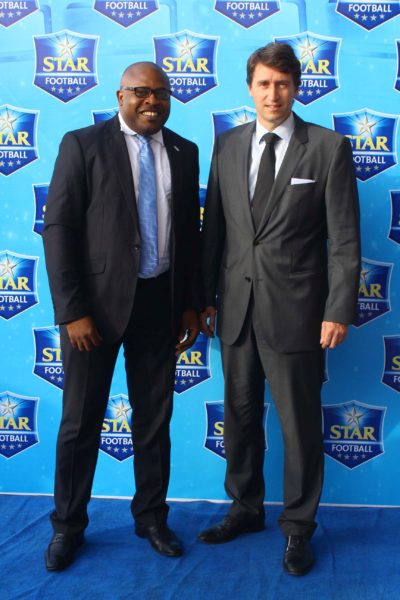 CORPORATE AFFAIRS ADVISER, NIGERIAN BREWERIES, KUFRE EKANEM & MARKETING DIRECTOR, NIGERIAN BREWERIES, WALTER DRENTH
