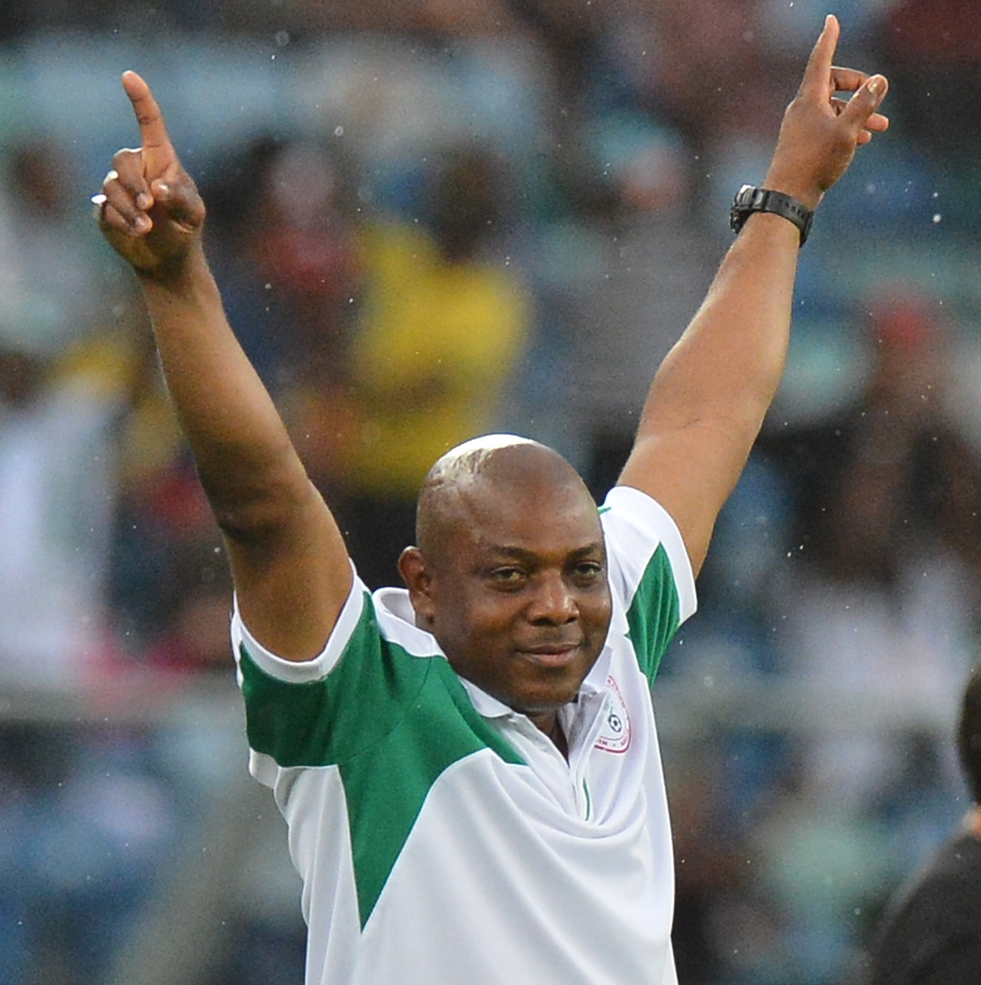 Stephen Keshi - May 2014 -BellaNaija.com