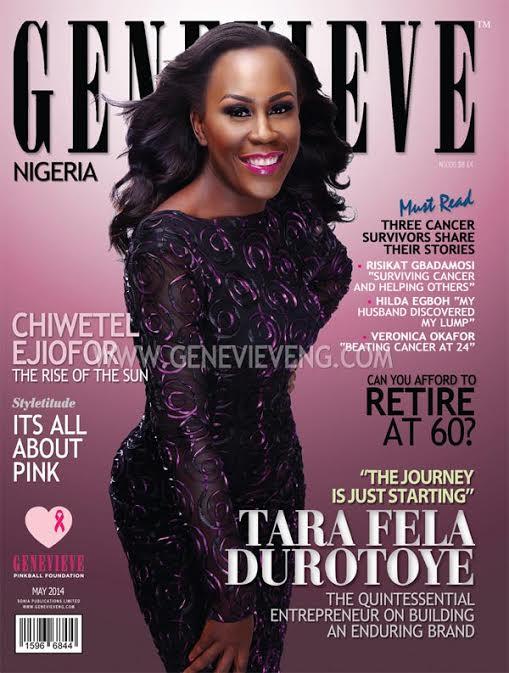 Tara Fela-Durotoye - Genevieve Magazine - May 2014 - BellaNaija.com 01