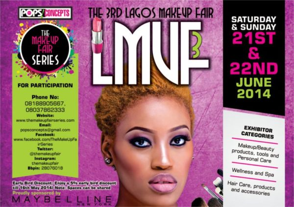The 3rd Lagos Makeup Fair - BellaNaija - May 2014