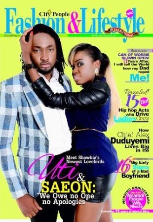 Uti Nwachukwu & Saeon - City People Fashion & Lifestyle - May 2014 - BellaNaija.com
