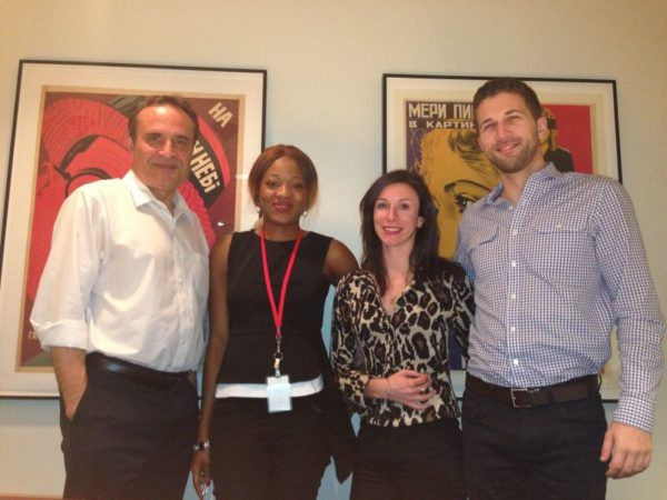 Vchangelo Bullock (Managing Director, Outreach & Strategy initiative), Chineze Anyaene (Chairperson, NOSC), Meredith Shae (Award Cordinator) & Tom Oyer (Awards Cordinator)