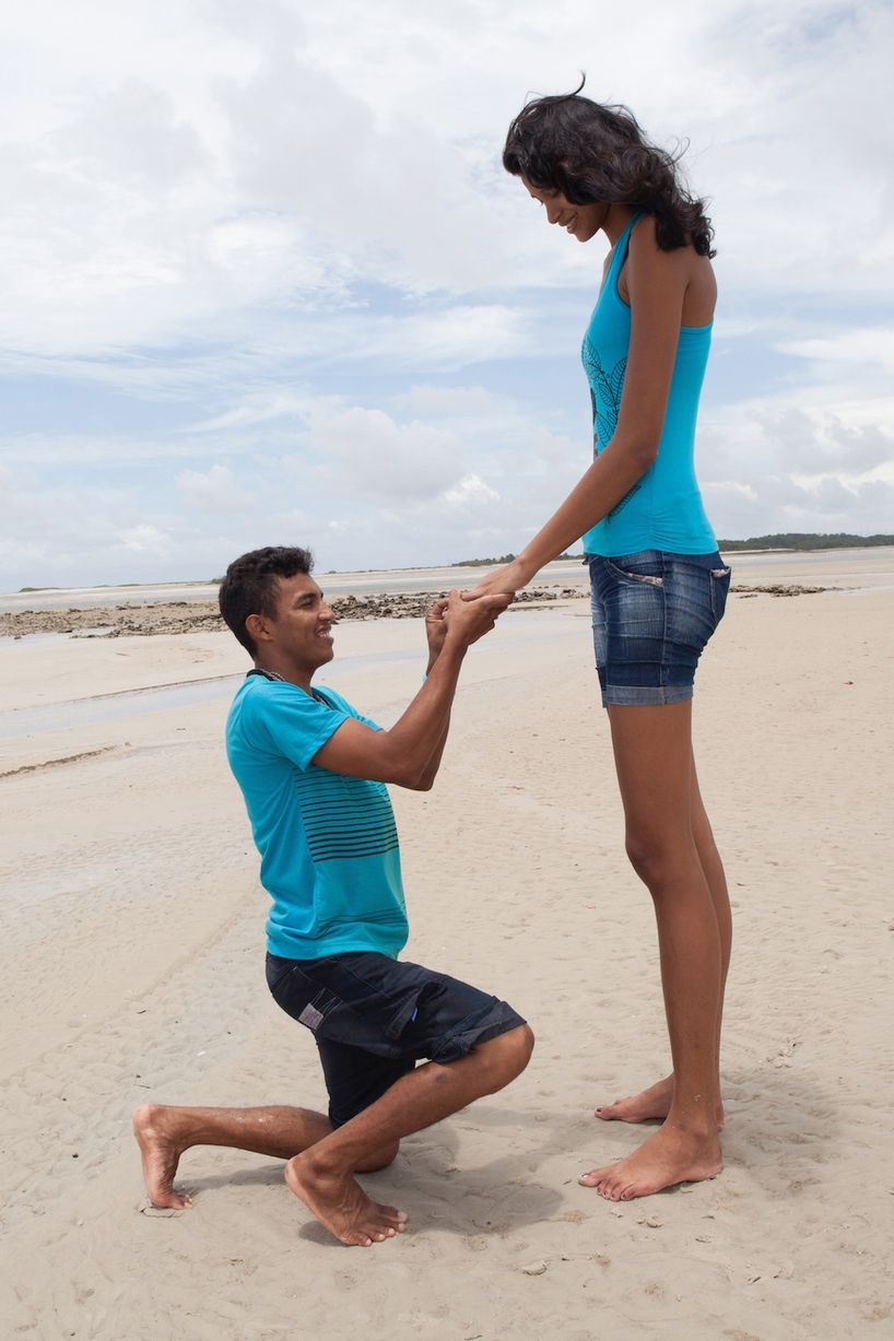 World s tallest woman is engaged may 2014 bellanaija com 03