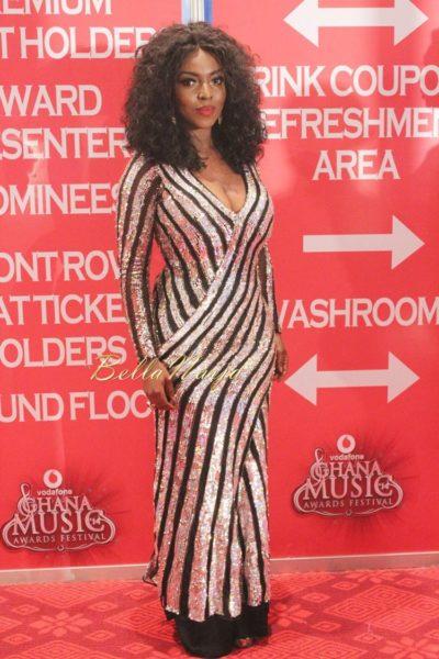 Yvonne Okoro - Vodafone Ghana Music Awards - May 2014 - BellaNaija.com 02