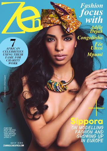 Zen Magazine Siporra Cover - BellaNaija - May 2014001