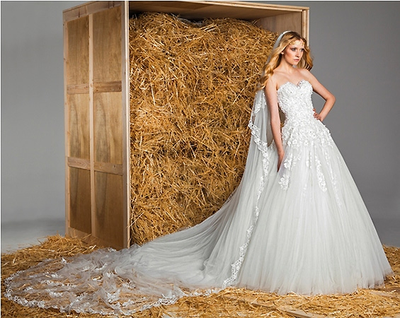 Zuhair Murad Bridal Spring Summer 2015 Wedding Dresses - BellaNaija 013
