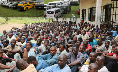 486 suspected terrorists arrested in Abia Bella Naija