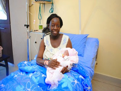 60 Year Old Woman Births Baby Through IVF