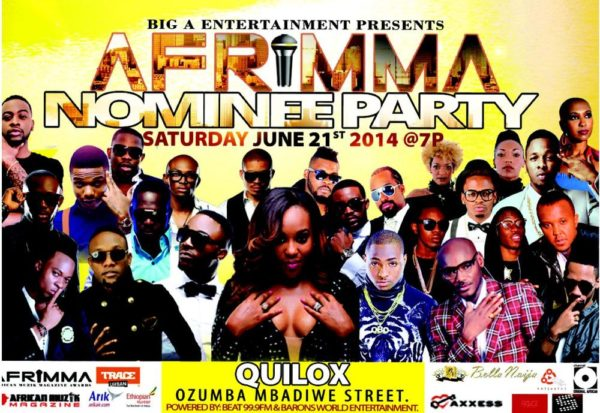 AFRIMMA Nominees Party - June 2014 - BellaNaija.com
