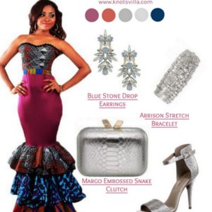 Afro-mod-trends-dress-wedding-look-ankara-african-prints-silver