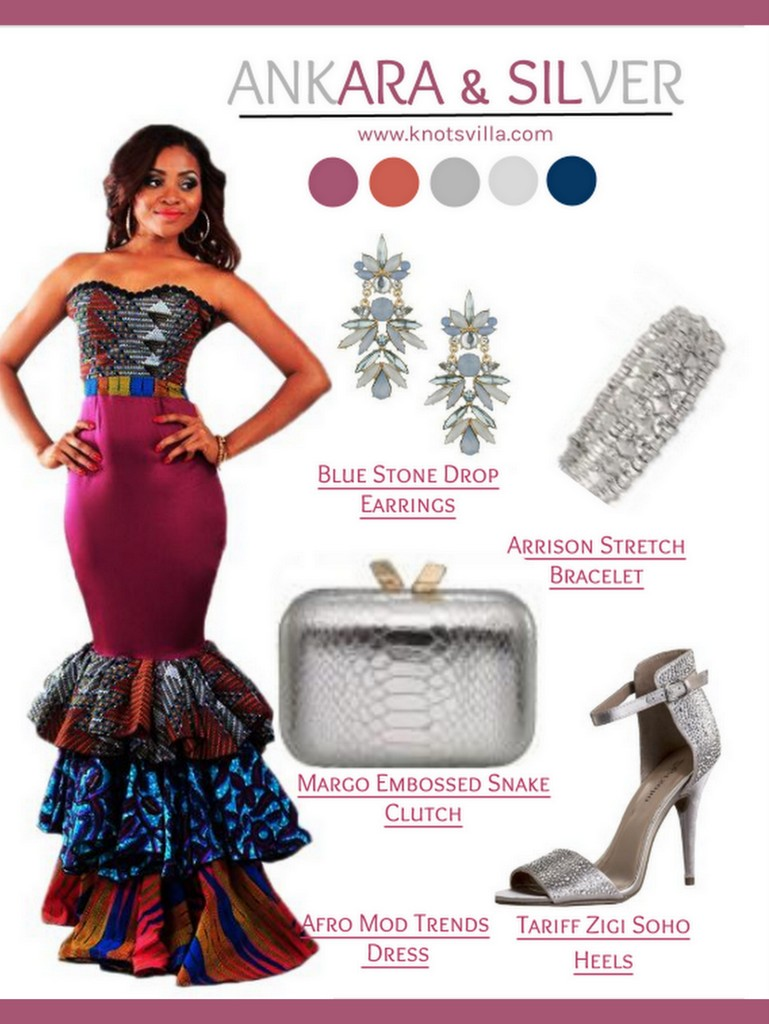 3 gorgeous ankara infused wedding guest looks gee of for African dresses for wedding guests