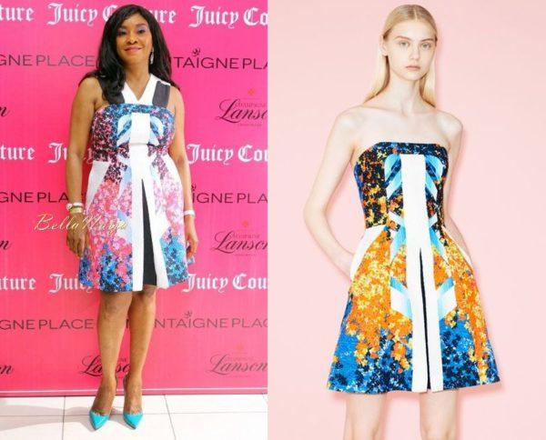 Alali Hart in Peter Pilotto - Juicy Couture Launch - June 2014 - BellaNaija.com