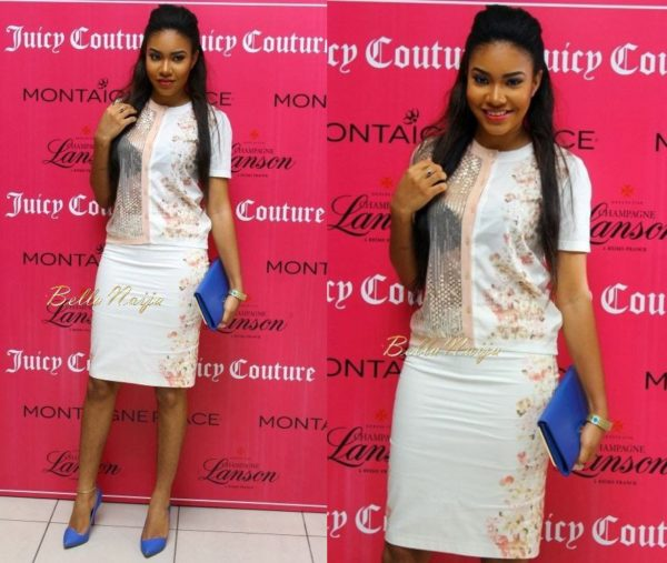 Anna Ebiere Banner in Nkili - Juicy Couture Launch - June 2014 - BellaNaija.com