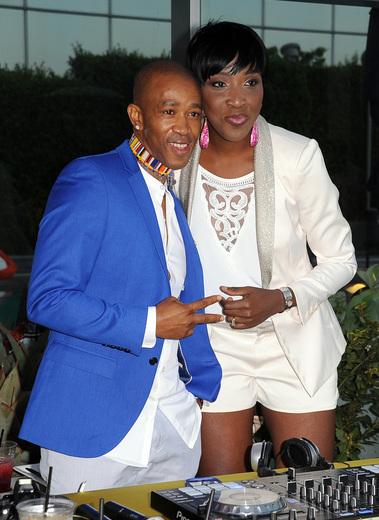 Theo of Mafikizolo with DJ Soupamodel