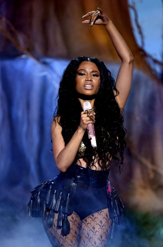 Davido Usher Nicki Minaj All The Scoop From The Bet Awards 2014