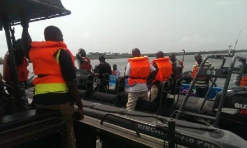 Boat Capsizes in Lagos Bella Naija
