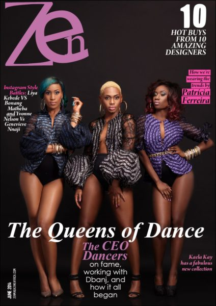 CEO Dancers for Zen Magazine - Bellanaija - June2014