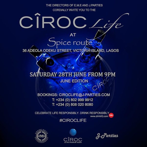 CIROC LIFE Invitation _ June Edition _ EME x J.PARTIES