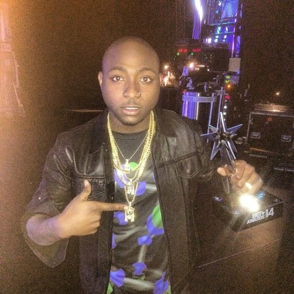 Davido BET Awards 2014 BellaNaija