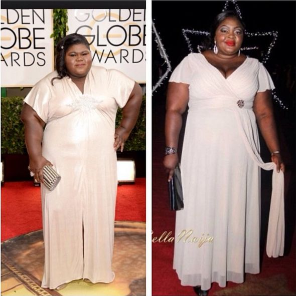 Eniola Badmus On Accepting Her Weight Compares Self To Gabourey Sidibe