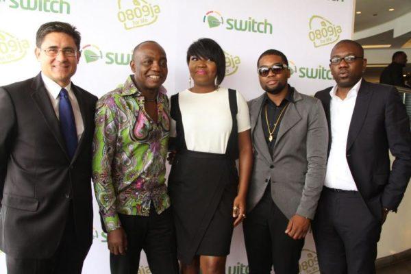 Matthew Willshere; Dede Mabiaku; Etisalat Ambassador, Sasha P; Mo'Eazy and Oluwole Rawa