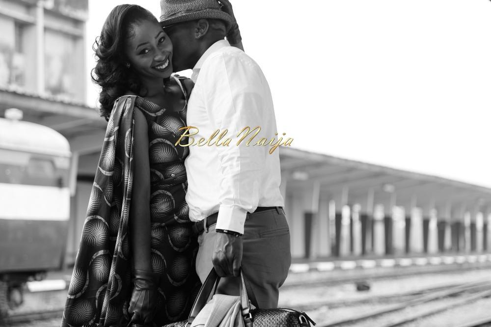 Ewemade Emokpae of Shakara Couture - Pre Wedding Shoot - BellaNaija 0PWP11