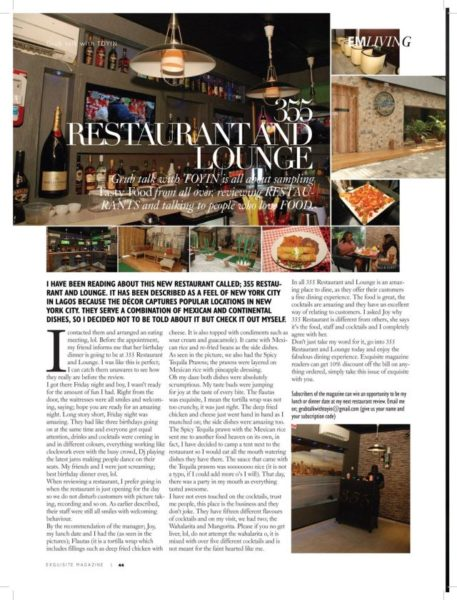 Exquisite Magazine's New Issue - June 2014 - BellaNaija.com 01005