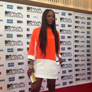 Tiwa Savage in Celine
