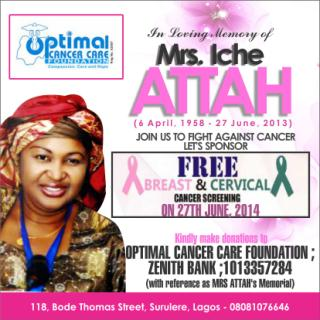 Free Breast & Cervical Cancer - BellaNaija - June - 2014