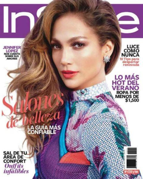 Jennifer Lopez for InStyle Mexico June 2014 - Bellanaija - June 2014001