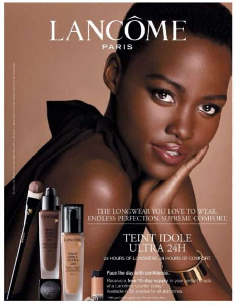 Lupita Nyongo Lancome Advert - Bellanaija - June 2014001