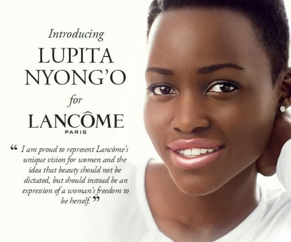 Lupita Nyongo Lancome Advert - Bellanaija - June 2014002
