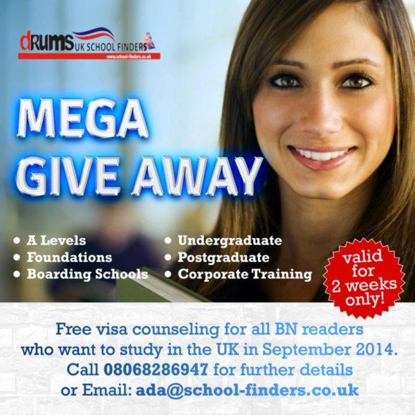 Mega Give Away - June 2014 - BellaNaija.com