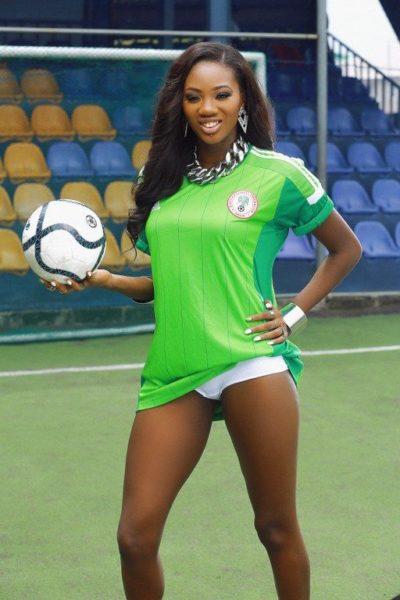 Mercy Ajisafe for Super Eagles for Brazil 2014 - June 2014 - BellaNaija.com 01004