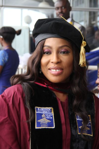 Mo Abudu at Babcock University - June 2014 - BellaNaija.com 01013