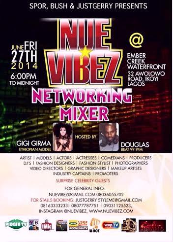 NUE Vibez Networking Mixer - Bellanaija - June2014