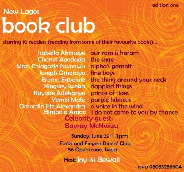 New Lagos Book Club - BellaNaija - June - 2014