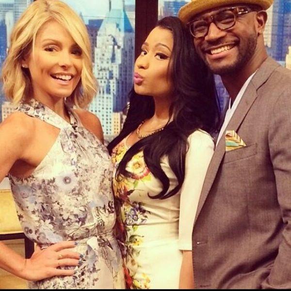 Nicki Minaj Live with Kelly Ripa 2