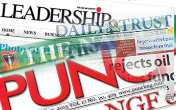 Nigeria-Newspapers Seized Bella Naija