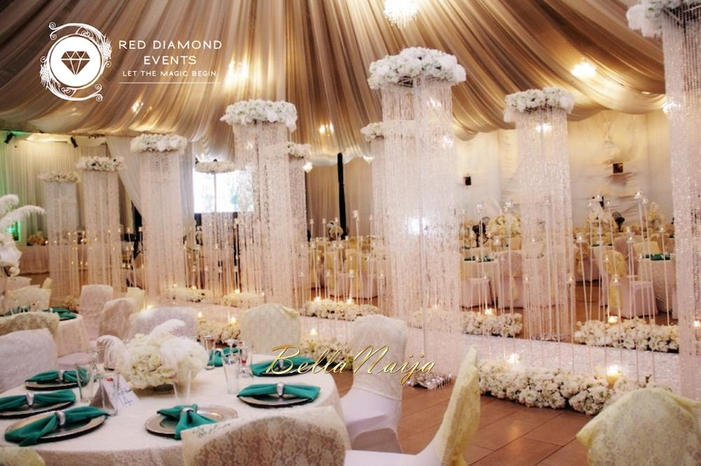 BN Wedding Decor: Great Gatsby Wedding in Nigeria by Red Diamond ...