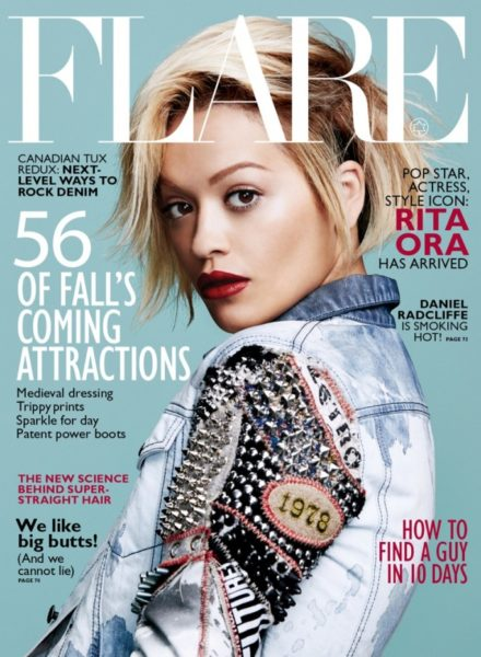 Rita Ora for Flare Magazine August 2014 - Bellanaija - June2014003