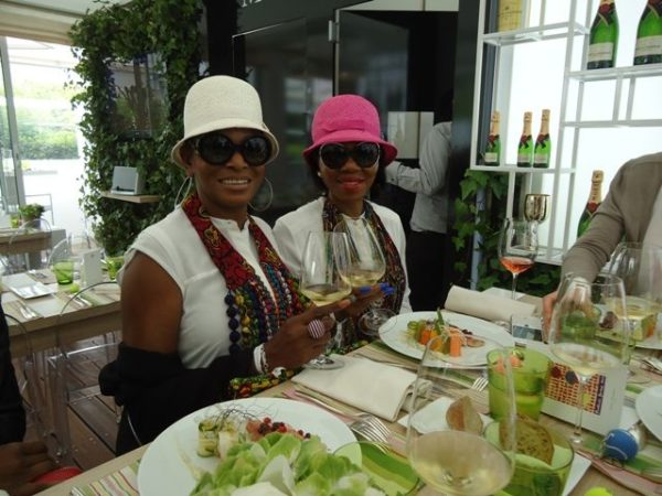 Ruth Osime, Betty Irabor & Agbani Darego at 2014 Roland Garros Tournament - BellaNaija - June2014012