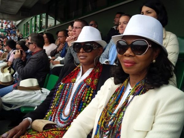 Ruth Osime, Betty Irabor & Agbani Darego at 2014 Roland Garros Tournament - BellaNaija - June2014016