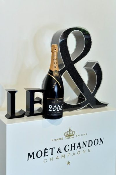 Le & by Moët et Chandon. Epernay le 20 mai 2014.
