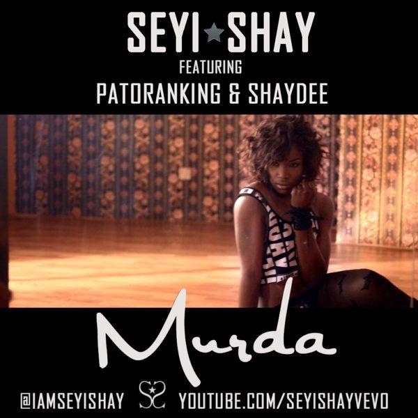 Seyi Shay Feat. Patoranking & Shaydee - Murda - BellaNaija - June - 2014