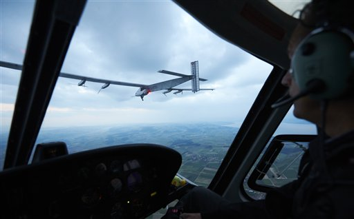 Switzerland Solar Impulse 2