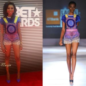 Stephanie Coker in Iconic Invanity at BET Awards - BN Style - June 2014 - BellaNaija.com 01